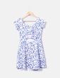 Vestido floral texturizado NoName