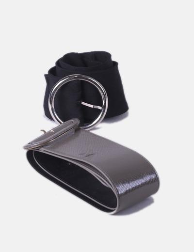 Pack cintos hebilla ancha H&M