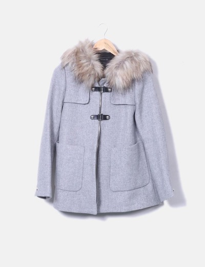 Manteau zara gris