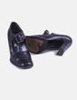 Zapato negro con elástico Pablo Fuster