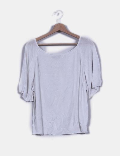 Jersey  blanco de punto Mellachia