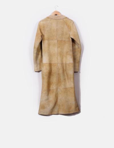 Abrigos de piel con borrego