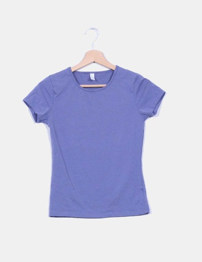 Camiseta morada Vero Moda