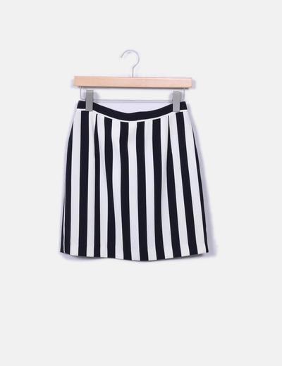 Minifalda rayas Cacharel