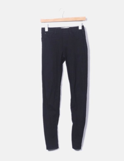 Leggings noir Bershka