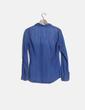 Camisa denim azul manga larga Stradivarius