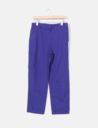 Pantalón chino azul klein COS
