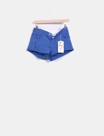 Short azul marino  Suiteblanco