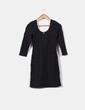 Mini vestido elástico texturizado  H&M