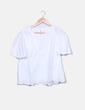 Blusa blanca guipur GAP