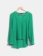 Blusa verde fluida Atmosphere