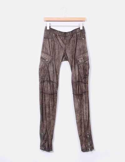 "Pantalón de polipiel ""Vintage"" Ra-Re"