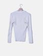 Jersey tricot banco con escote en pico Tommy Hilfiger