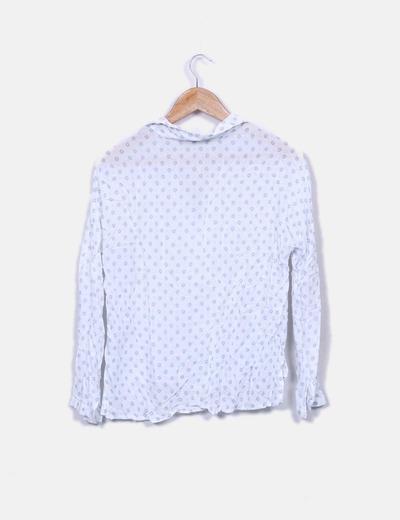 478a45997 Lefties Blusa blanca estampada (descuento 93%) - Micolet