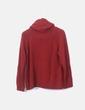 Jersey tricot rojo cuello vuelto Massimo Dutti
