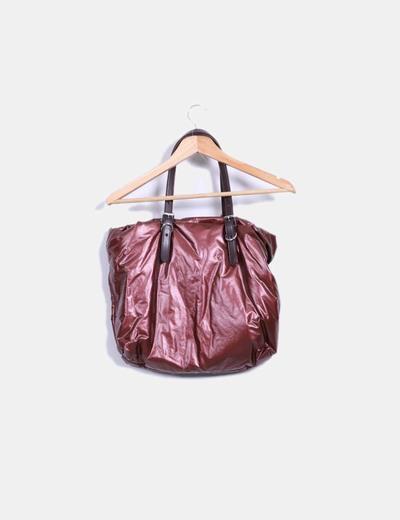 Bolso acolchado cobre