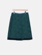 Falda de encaje verde Pedro del Hierro