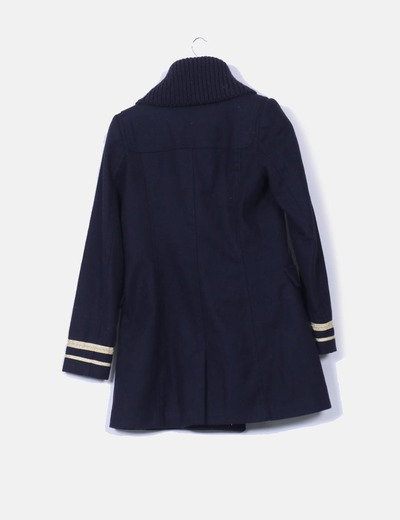 Abrigo marinero zara