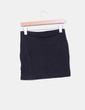 Mini falda negra básica H&M