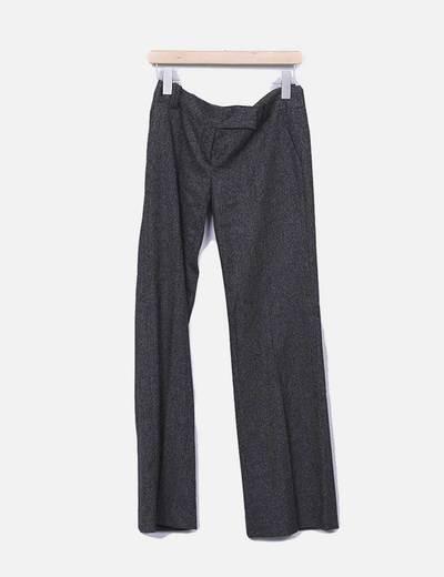 Pantalon de vestir marron Zara