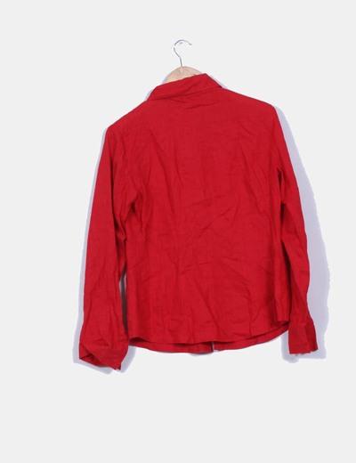 263f0d0ab430 Roja Camisa Zara Linodescuento 97Micolet De 9Y2eDEIWH