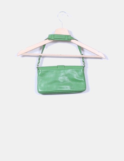 Bolso mini polipiel verde