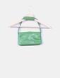 Bolso mini polipiel verde Ann Taylor