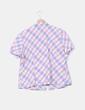 Camisa manga corta estampado cuadros Lasserre
