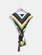 Top de franjas multicolor Zara