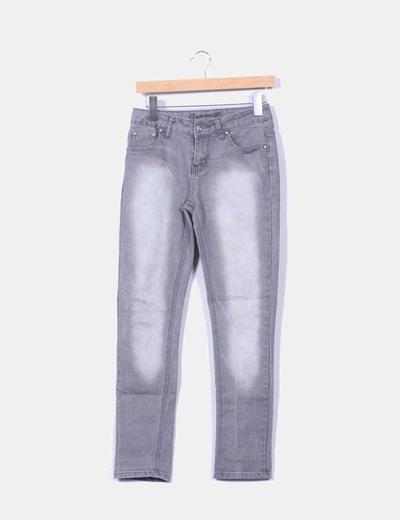 Jeans gris Denim Co.