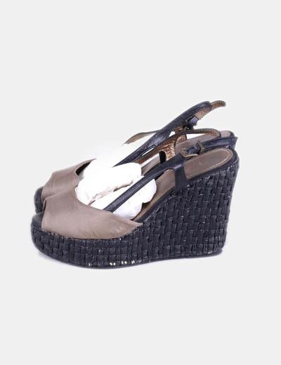 Sapatos de cunha Bimba&Lola