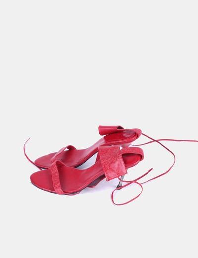 ae9f90b9 Zara Sandalias pulsera rojas (descuento 78%) - Micolet