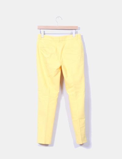 Pantalon sarga amarillo