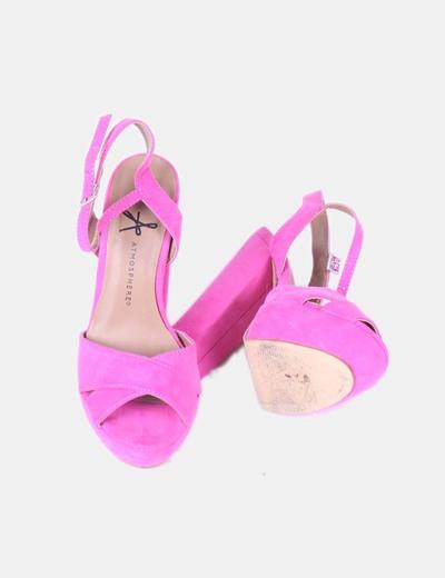 Sandalia rosa fucsia