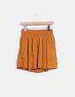 Falda midi color camel Pull&Bear