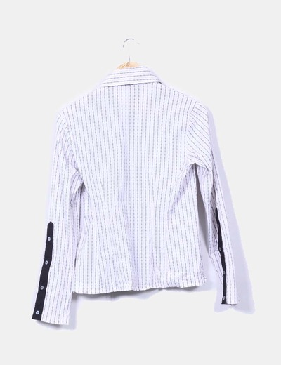 Camisa estampada manga larga