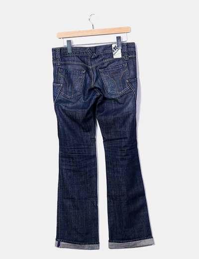 Jeans denim oscuro