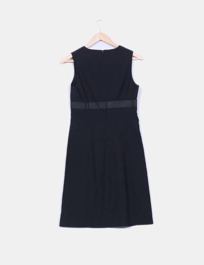 Vestido executive negro