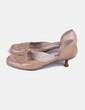 Zapato beige de tacón Viva Zapato