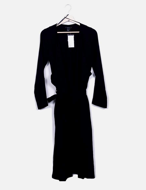 95c041ec5 Mujer baratos Chaqueta fluida Suiteblanco con online Abrigos y cinturón  negra de Chaquetas qfwqvzp ...