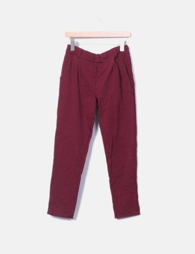 Pantalón elástico estampado