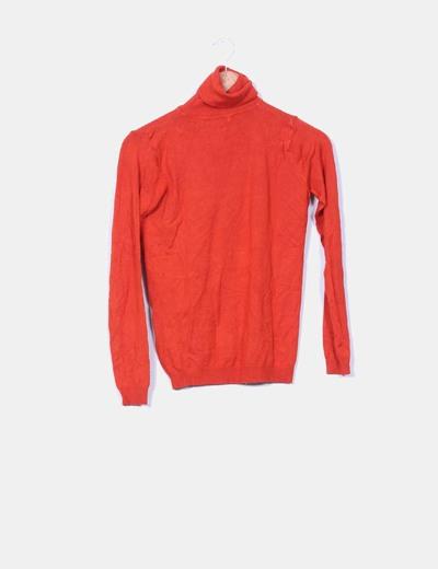Jersey tricot cuello vuelto caldera Lefties