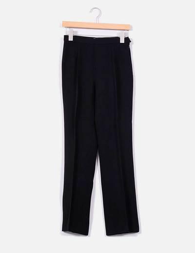Pantalones Pinzas Negro De Negro Moschino Negro Moschino De Pantalones Pinzas Pantalones Moschino De Pinzas 6vxqHxg