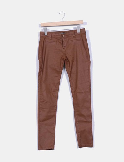 Jeans camel Stradivarius