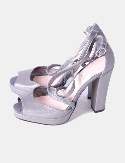 Metalizado Zapato Micolet 80 Marypaz De descuento Tacón wg7vqwRat