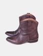 Botines cowboy marrón texturizado Eden Shoes