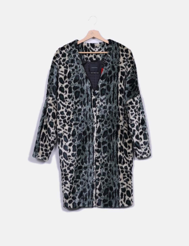 cf3e1f0a2cf de y Scotch pelo animal baratos verdoso online Chaquetas Abrigo print de Mujer  Abrigos Maison qHvYU8w ...