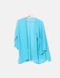 Kimono semitransparente azul Bershka