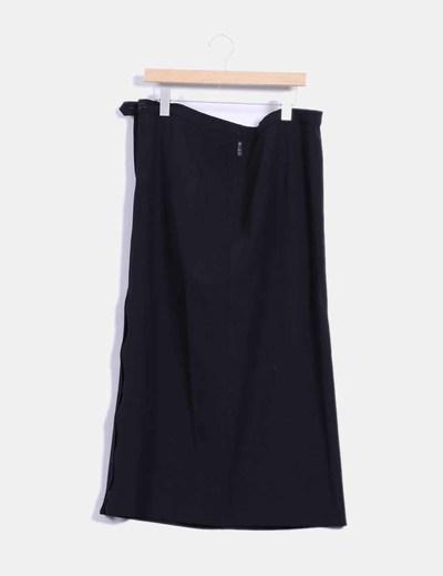 Falda larga marrón  Elena Miró