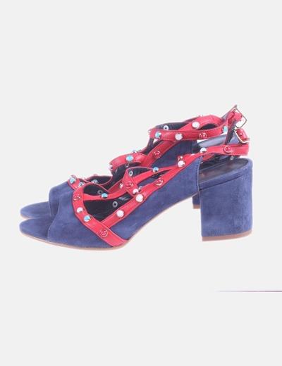 Zapato azul marino joya